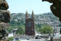 st marys church from the castle