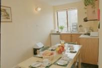student village residential kitchen